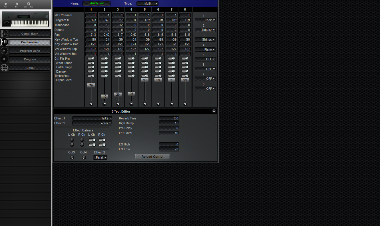 Midi Quest Korg M1 Editor and Librarian for Windows and