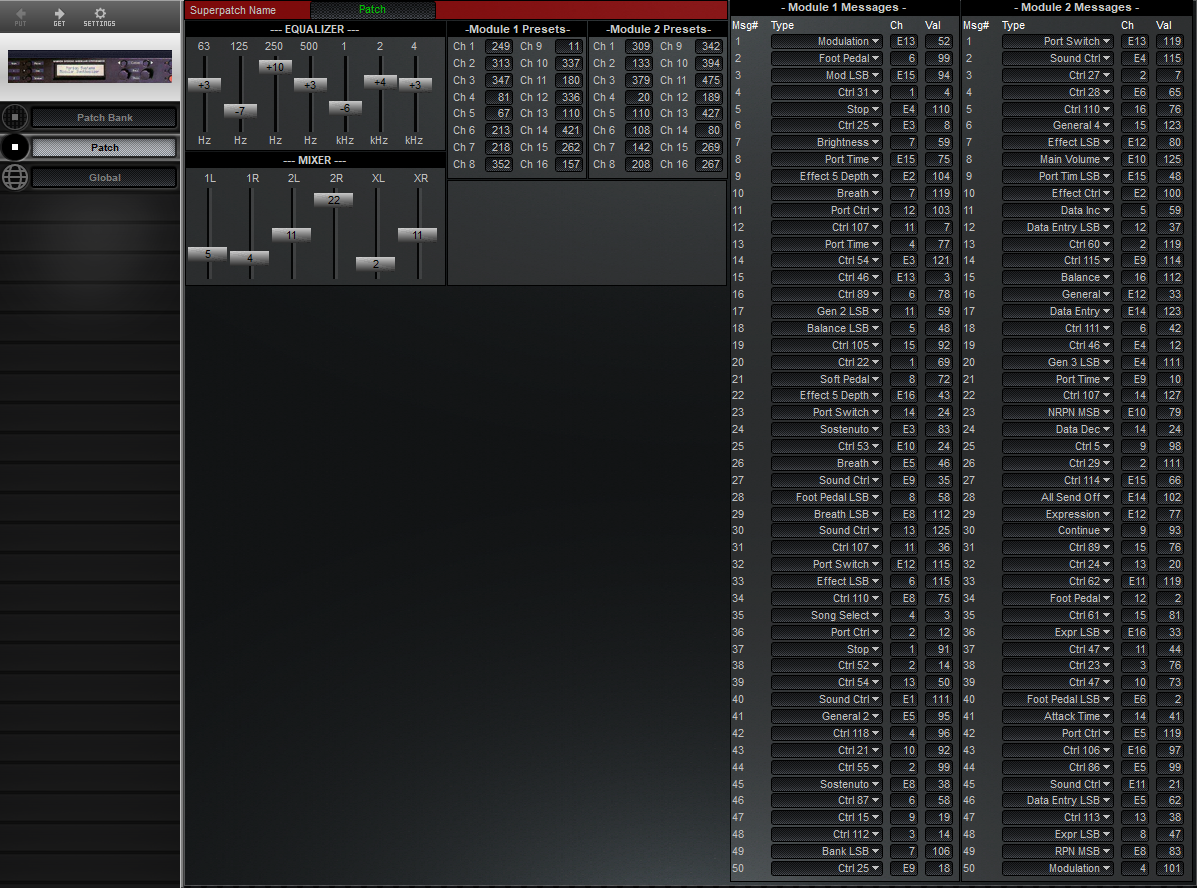 Midi Quest Marion Systems MSR-2 Editor and Librarian for