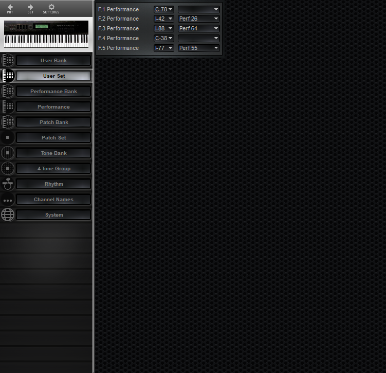 Midi Quest Roland D-70 Editor and Librarian for Windows and