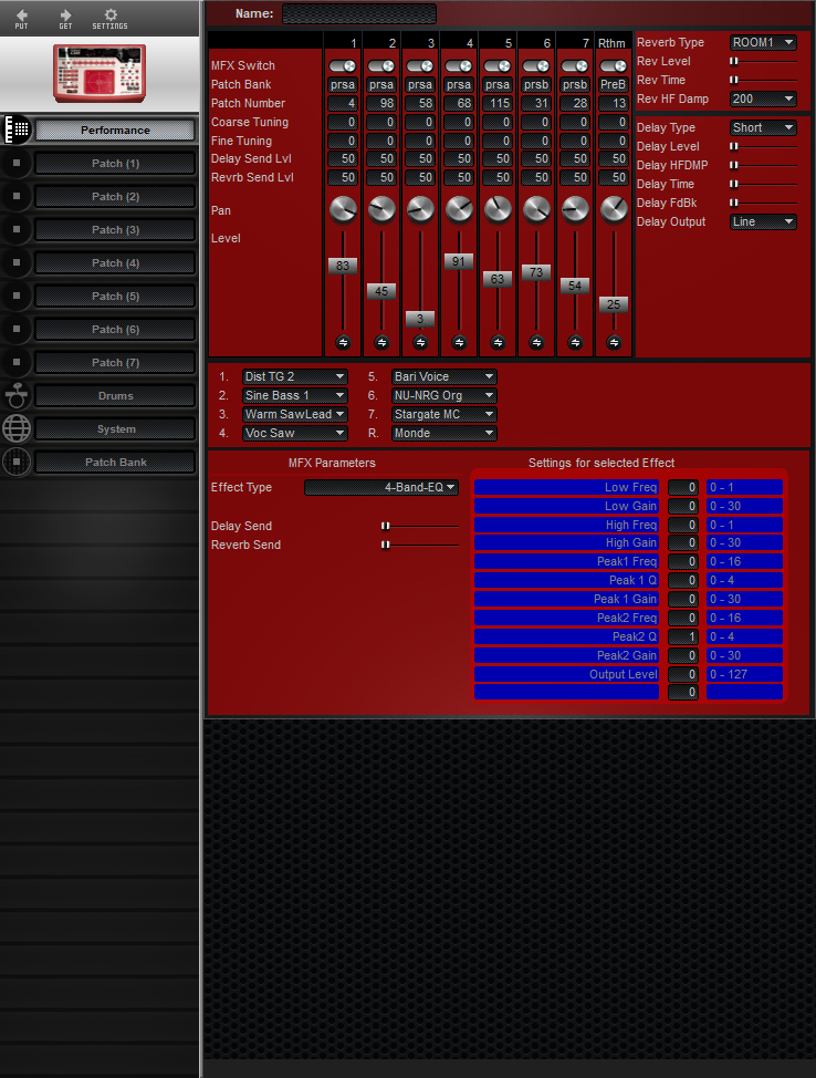 Midi Quest Roland D2 Editor and Librarian for Windows and Macintosh