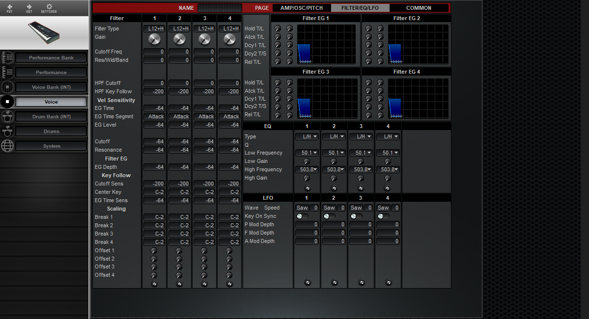 Midi Quest Yamaha S30 Editor/Librarian for iPad